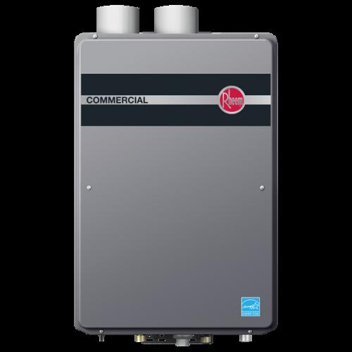 Rheem RTGH-CM95DVLN Natural Gas Condensing Tankless Water Heater w/ Built-In Manifold