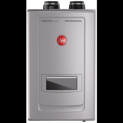 Rheem RTGH-RH10DVLN Prestige Series Condensing Tankless Water Heater w/Built-In Recirculation