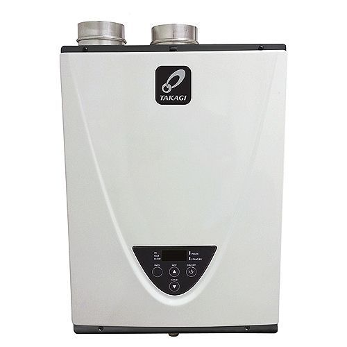 Takagi T-H3-DV-P Indoor Tankless High Efficiency Condensing Water Heater - Propane