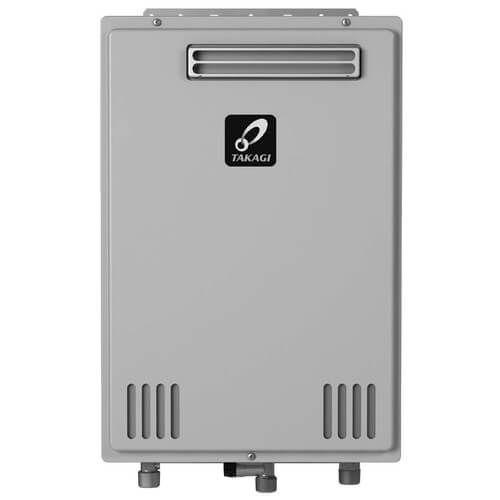 Takagi TK-510U-E Tankless Water Heater 199,000 BTU Natural Gas/Propane Outdoor Ultra Low NOx