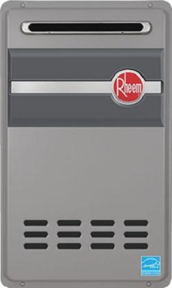 Rheem RTG-84XLP-1 Outdoor Propane Tankless Water Heater