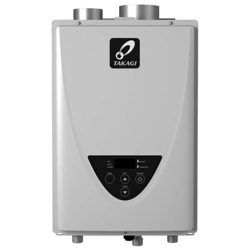 Takagi TK-510U-I Tankless Water Heater 199,000 BTU Natural Gas/Propane Indoor Ultra Low NOx